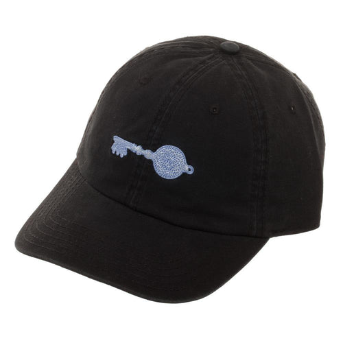 Ready Player One Crystal Key Cotton Embroidered Ballcap, Stylish Black Gamer Dad Hat, Winner Achievement - Adult Swim Time