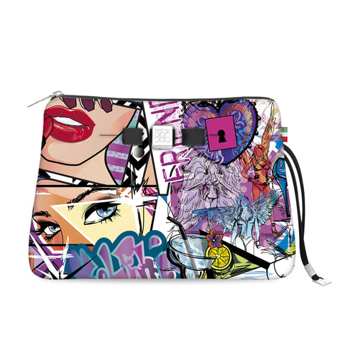 Travel Pouch Large* Graffiti