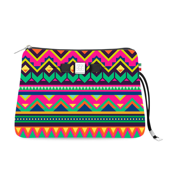 Travel Pouch Large* Aztec