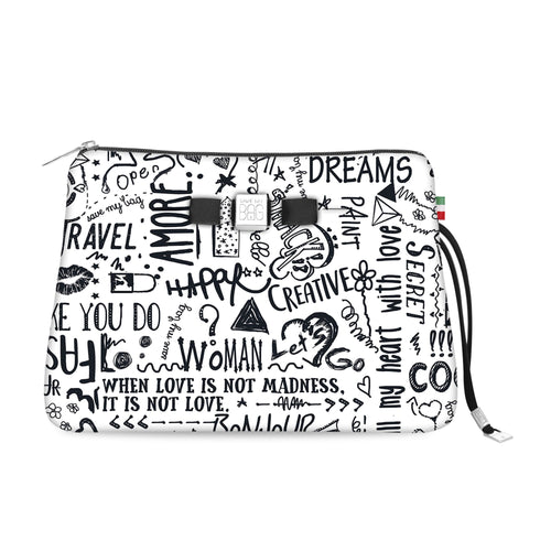 Travel Pouch Large* Love words