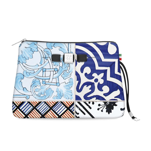 Travel Pouch Large* Maiolica