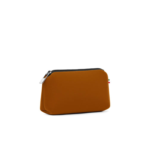 Small travel pouch* DATTERO MET/METALLIC RUST