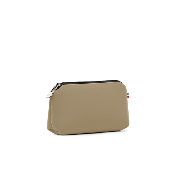 Small travel pouch* TOFFEE MET/METALLIC CAPPUCCINO
