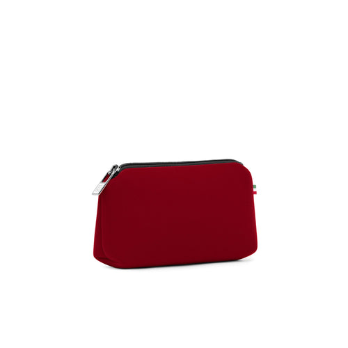 Small travel pouch* POMPEI/OX BLOOD