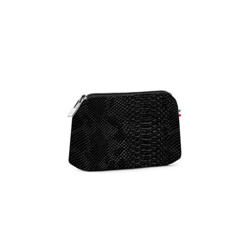 Small travel pouch *Python Nero