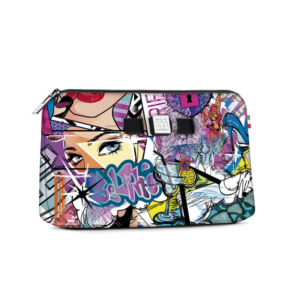 Medium travel pouch* GRAFFITI