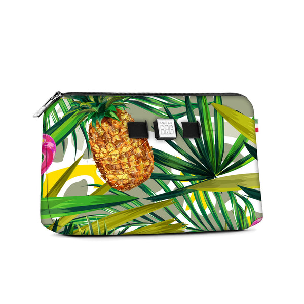 Medium travel pouch* TROPICAL