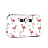 Medium travel pouch* PINK FLAMINGO
