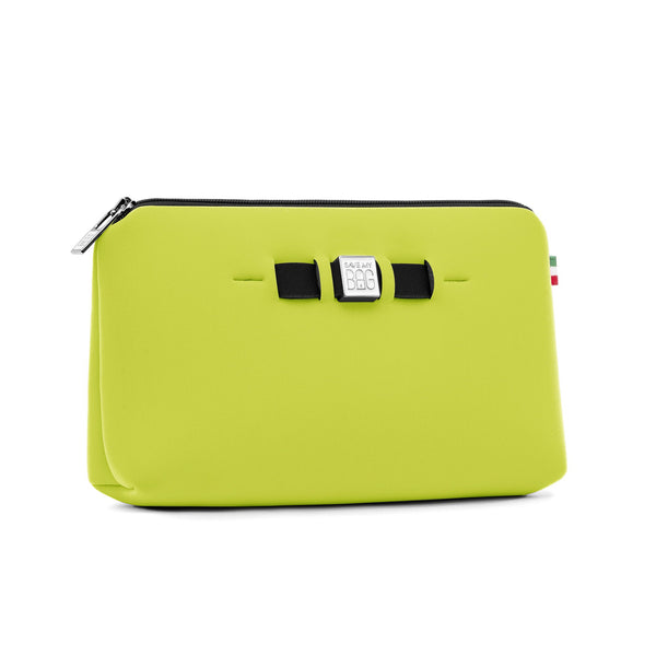 Medium travel pouch* BEAT/ACID GREEN