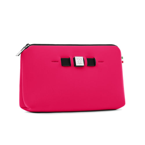 Medium travel pouch* BLOGGER/NEON FUCHSIA