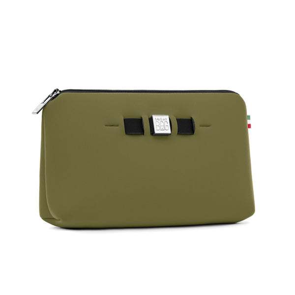 Medium travel pouch* KAKI/ARMY GREEN