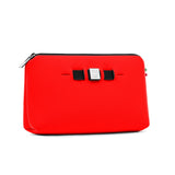 Medium travel pouch* RED COAT/SCARLET