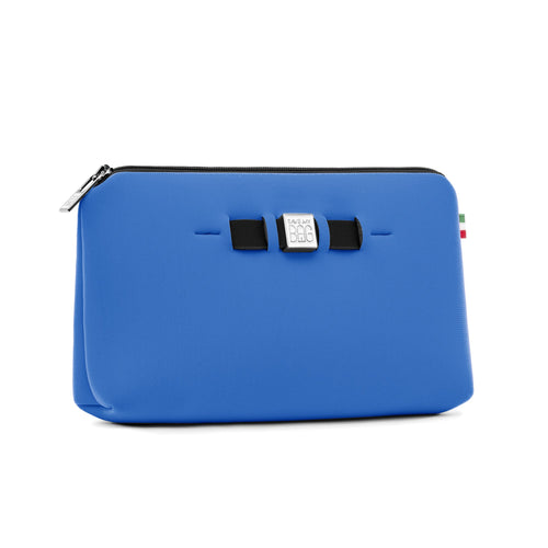 Medium travel pouch* ZAFFIRO/SAPPHIRE BLUE