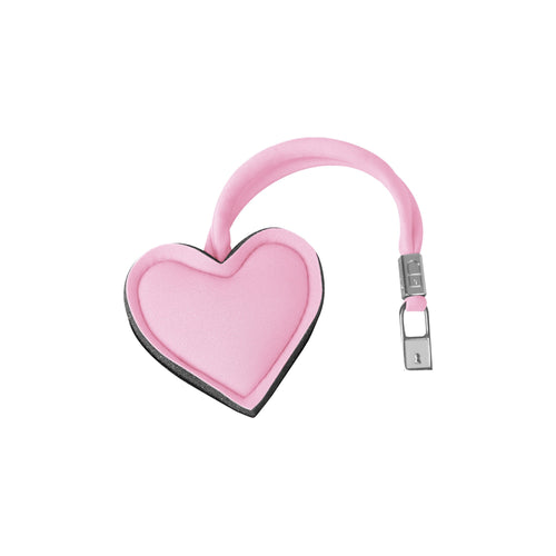 Heart*Soft pink/light pink