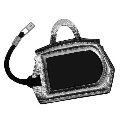BAG TAG* Luna Silver