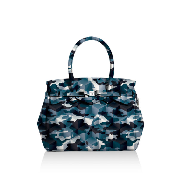 Miss Plus* Camouflage Blue