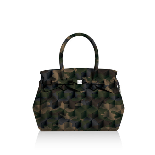 Miss Plus* Camouflage Green