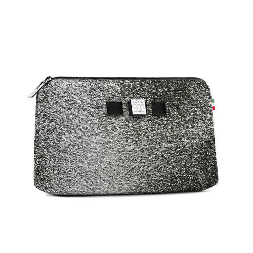 Medium Travel Pouch* Luna Silver