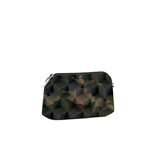 Small Travel Pouch* Camouflage Green