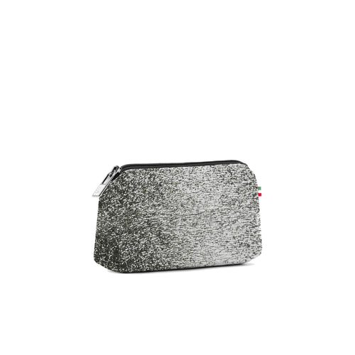 Small Travel Pouch* Luna Silver