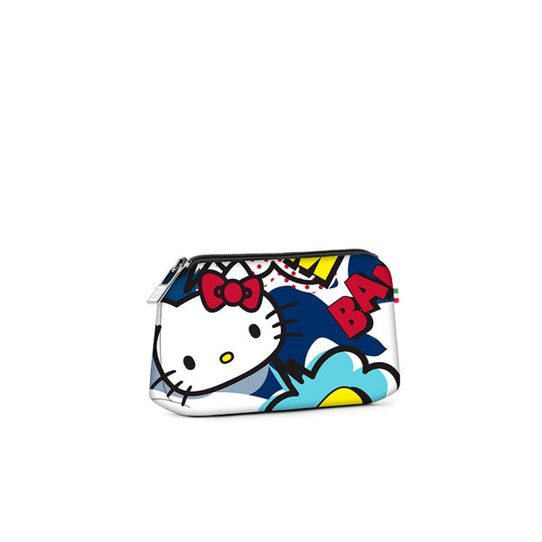 Small travel pouch* HELLO KITTY COMIC BLUE
