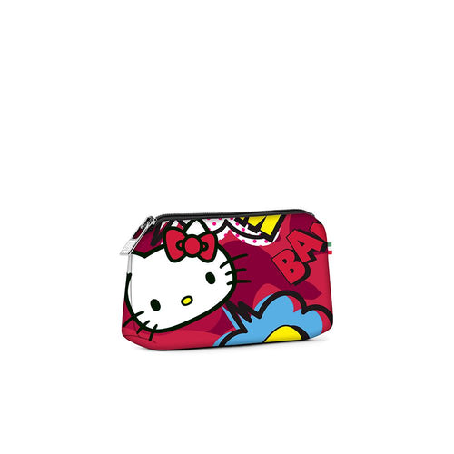 Small travel pouch* HELLO KITTY COMIC RED
