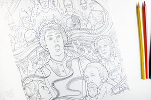 BBC Doctor Who Travels in time : Coloring Book