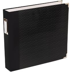 Black Chevron Album 12x12in-PL
