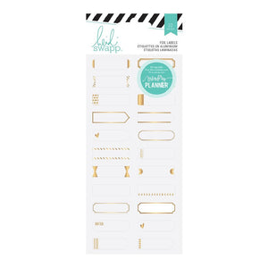 Hedi Swapp Foil Labels 22pc