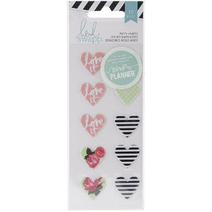 Heidi Swapp Puffy Heart 10pc