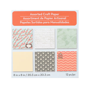 Assorted Craft Paper