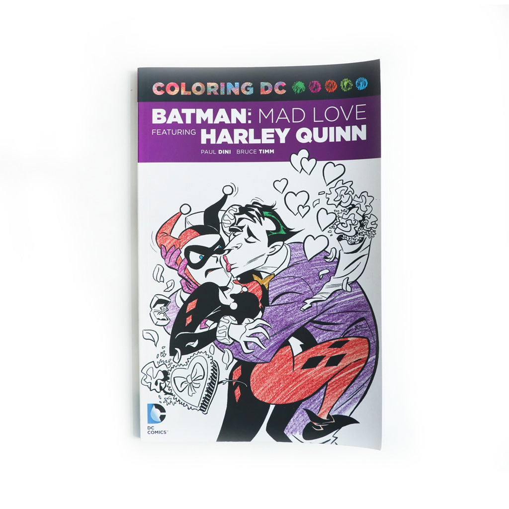 Coloring DC BATMAN : MAD LOVE feautring HARLEY QUINN