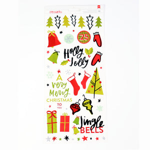 AC Stickers Deck the Halls Holly Jolly