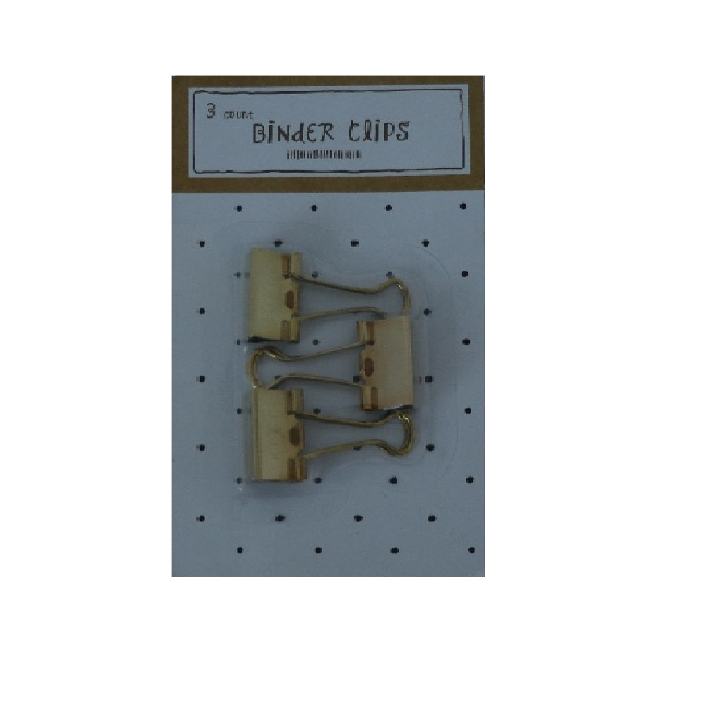Binder Clips 3 Count