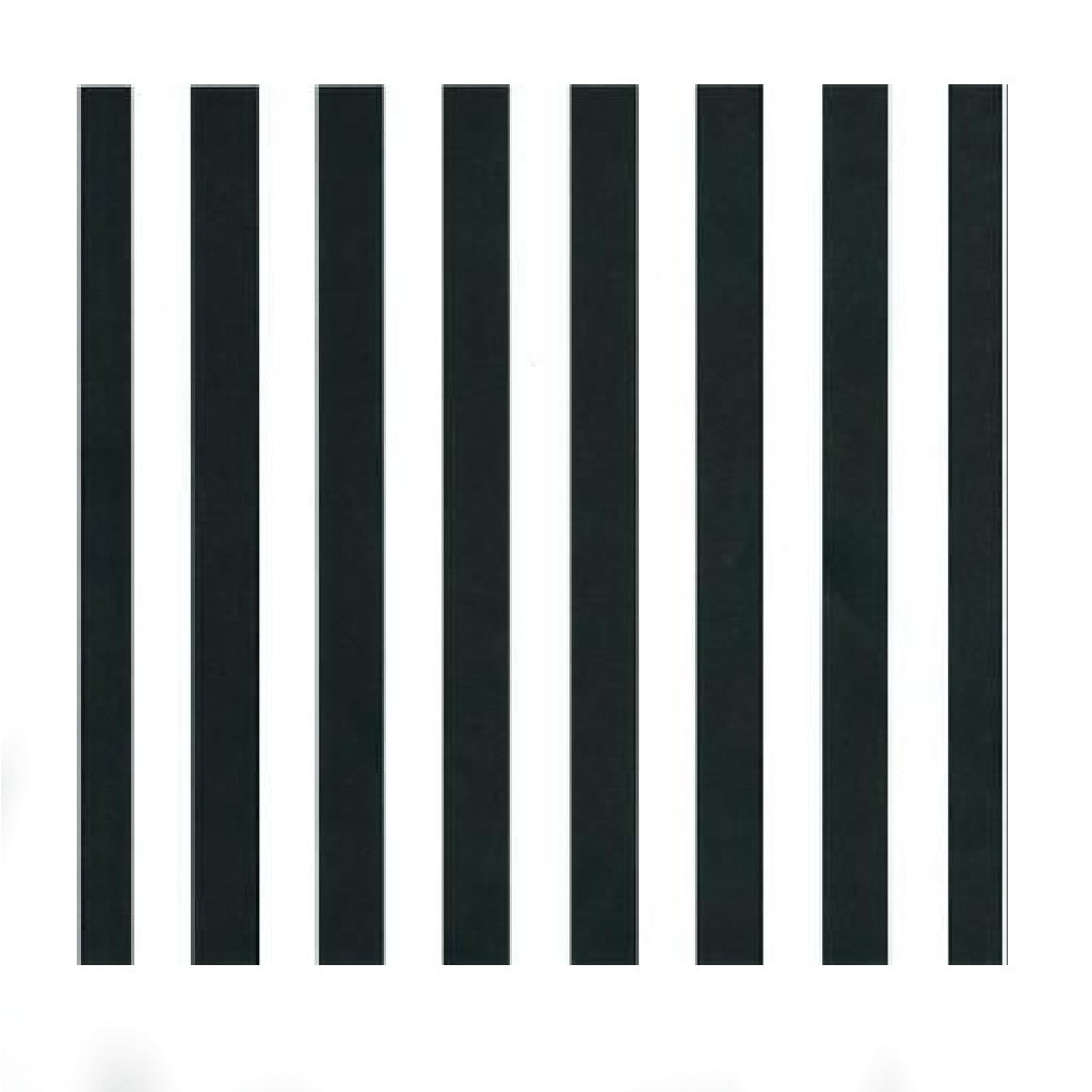 Black & White Big Stripe
