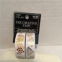 Decorative Foil Washi Tape- The Paper Studio