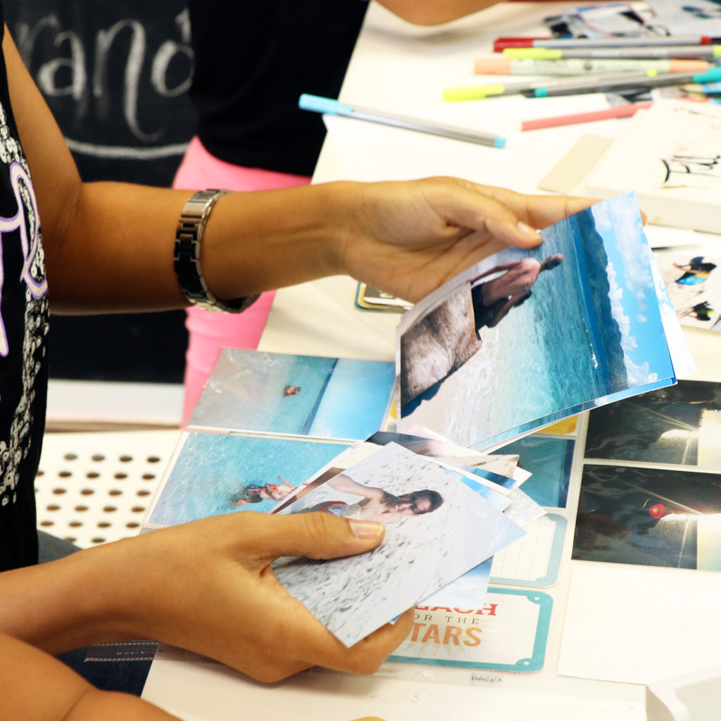 Documenta (Taller de Scrapbooking y Project Life)