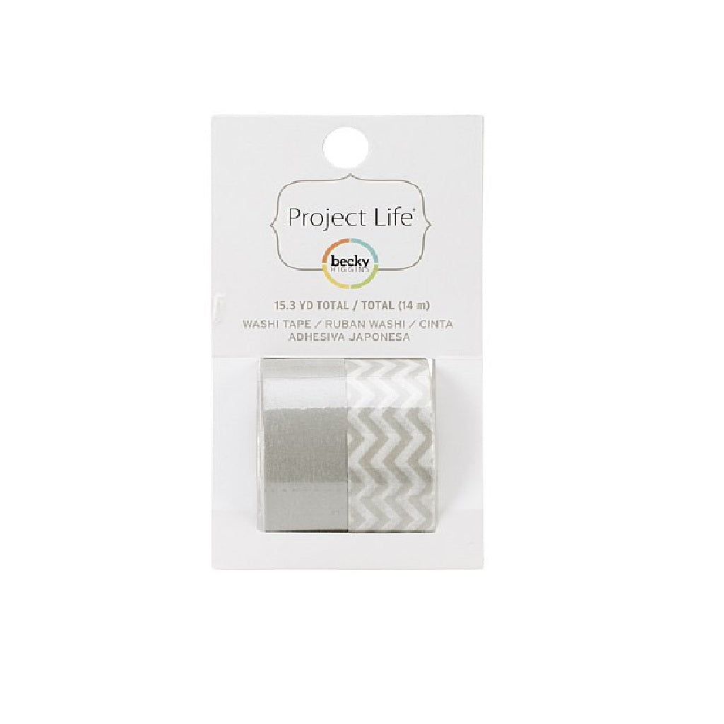 Washi Tape Grey – Project Life