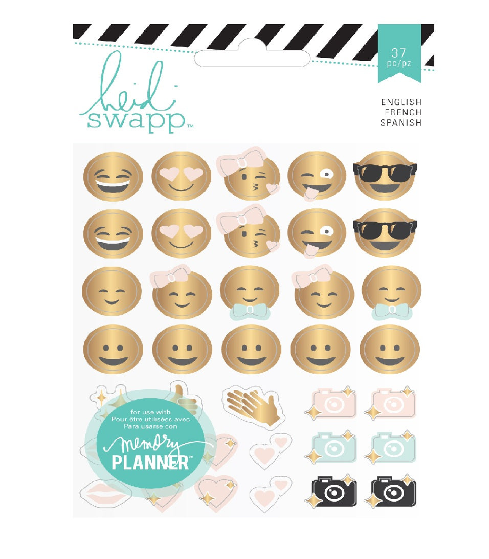 Heidi Swapp Emoticon Stickers