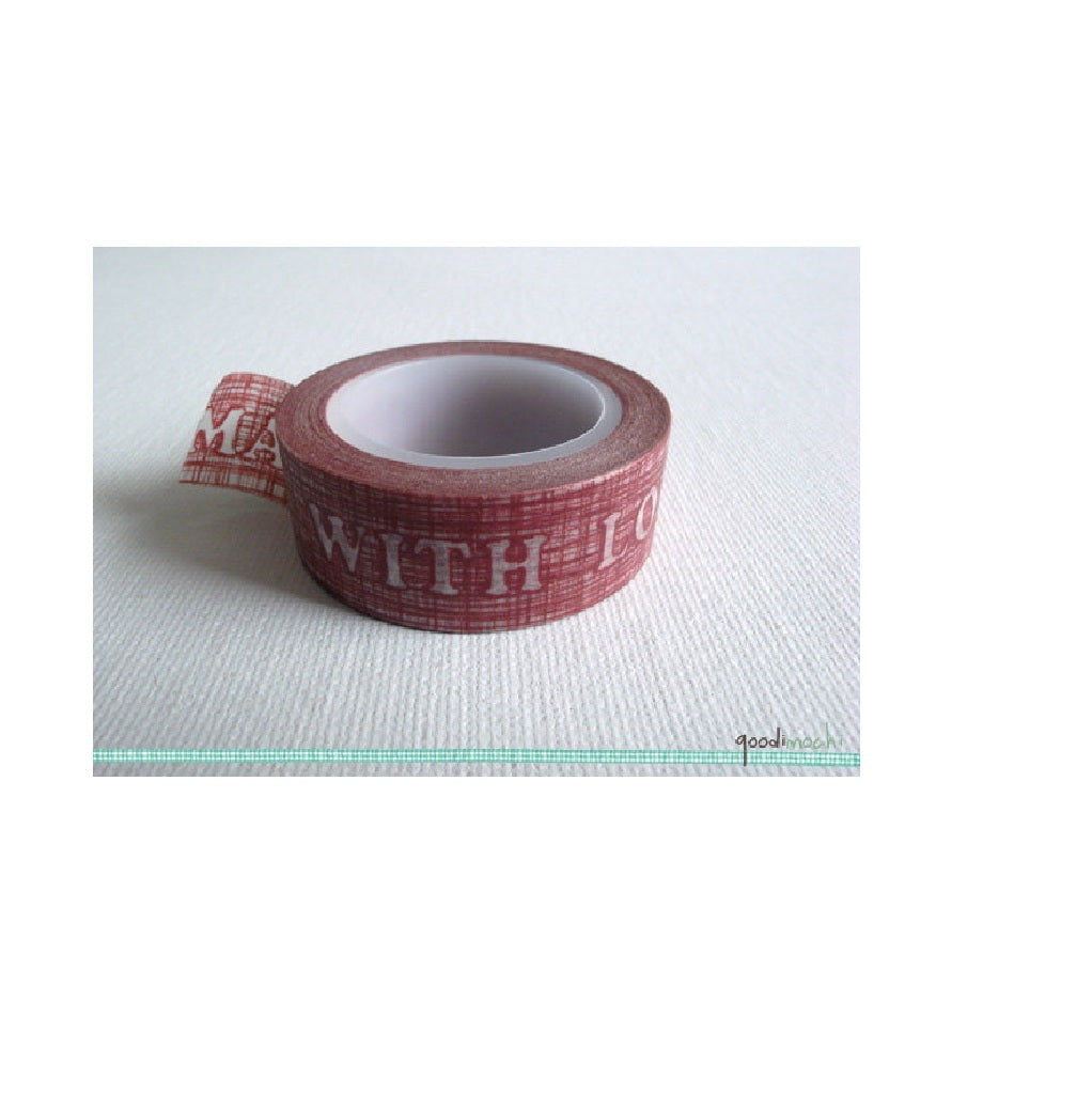 Washi Tape Made With Love