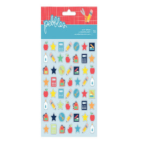 Pebbles Accent Stickers 56pc