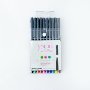 Pen set You're So Fine by Susana Cresce Designs