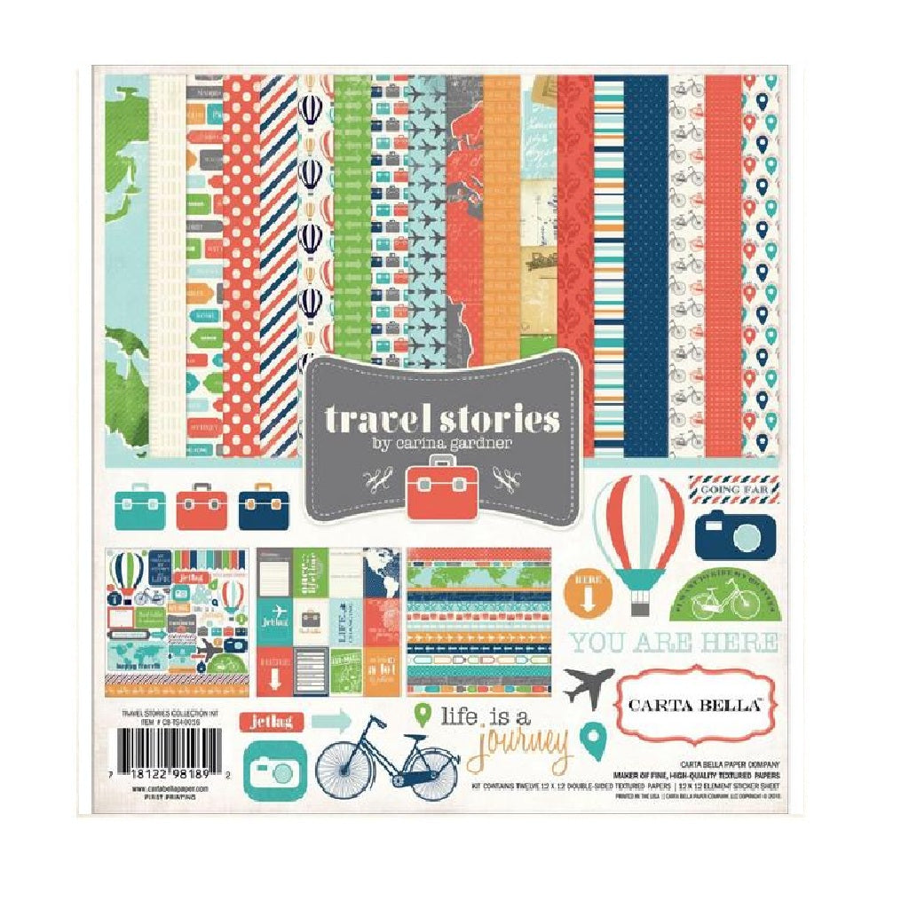 Travel Stories Collection Kit
