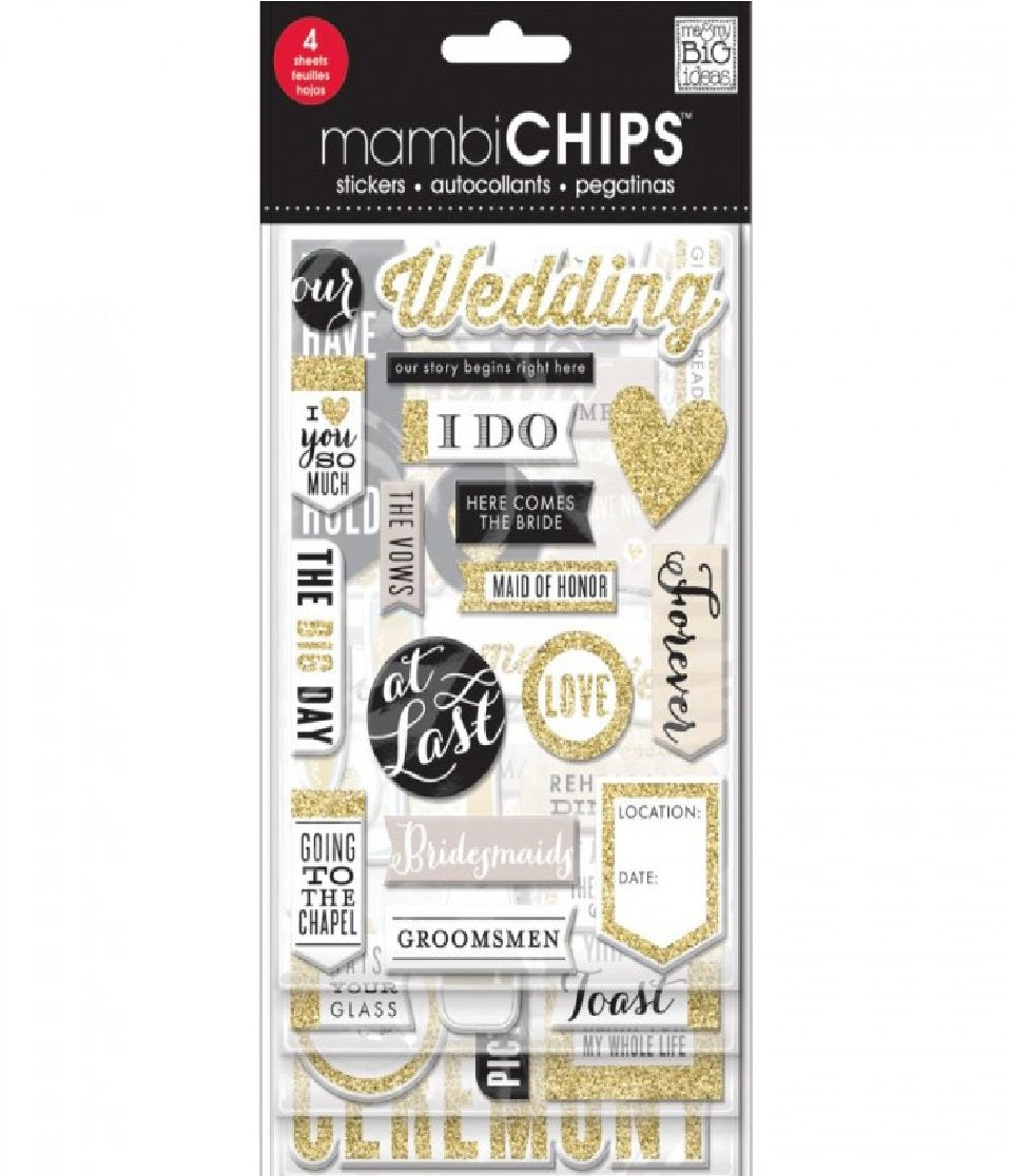 Mambi Chips Stickers