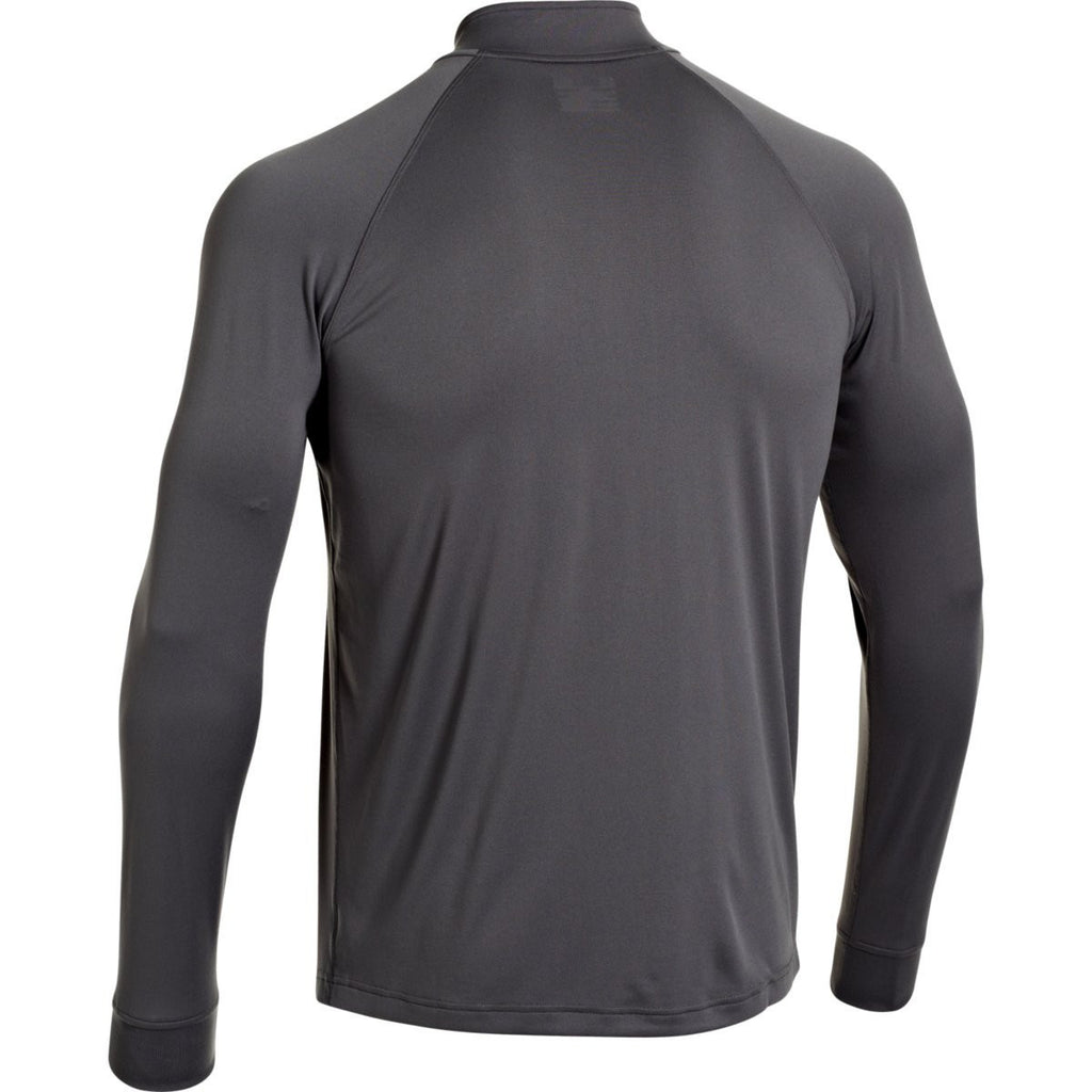 Under Armour Men's Charcoal Team Rival Tech Quarter Zip