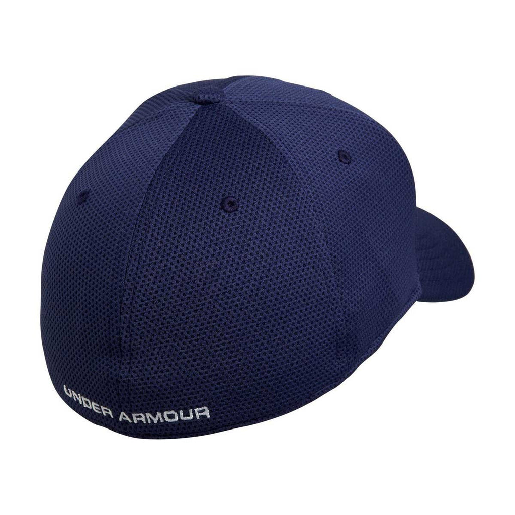 Under Armour Men s Midnight Navy Blitzing II Stretch Fit Cap 513bfe1c616