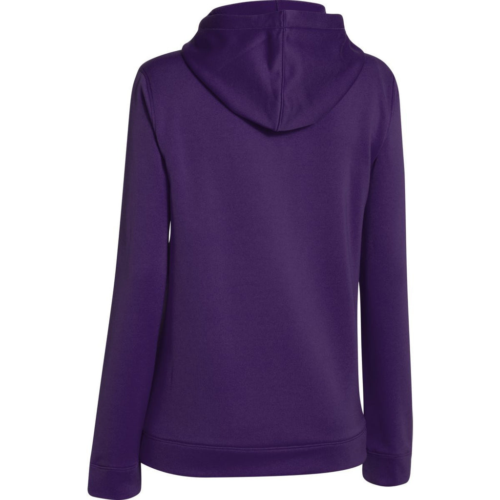 Under Armour Women's Purple Storm Armour Fleece Hoodie