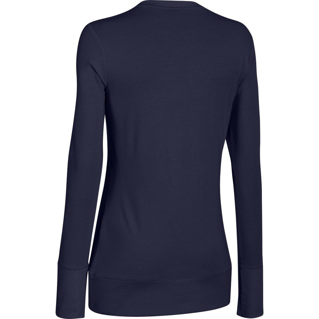 Under Armour Women's Navy ColdGear Infrared L/S
