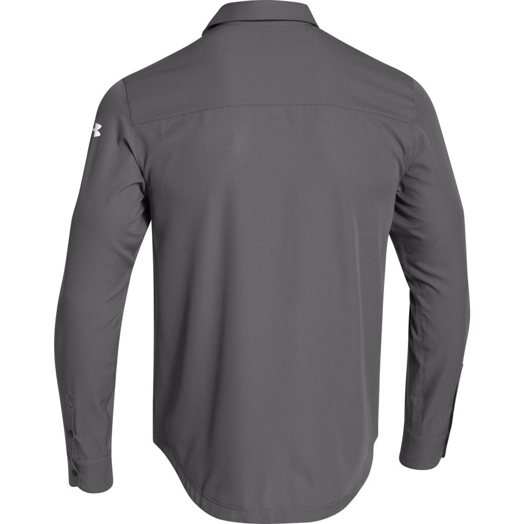 Under Armour Men's Charcoal Ultimate L/S Button Down Shirt