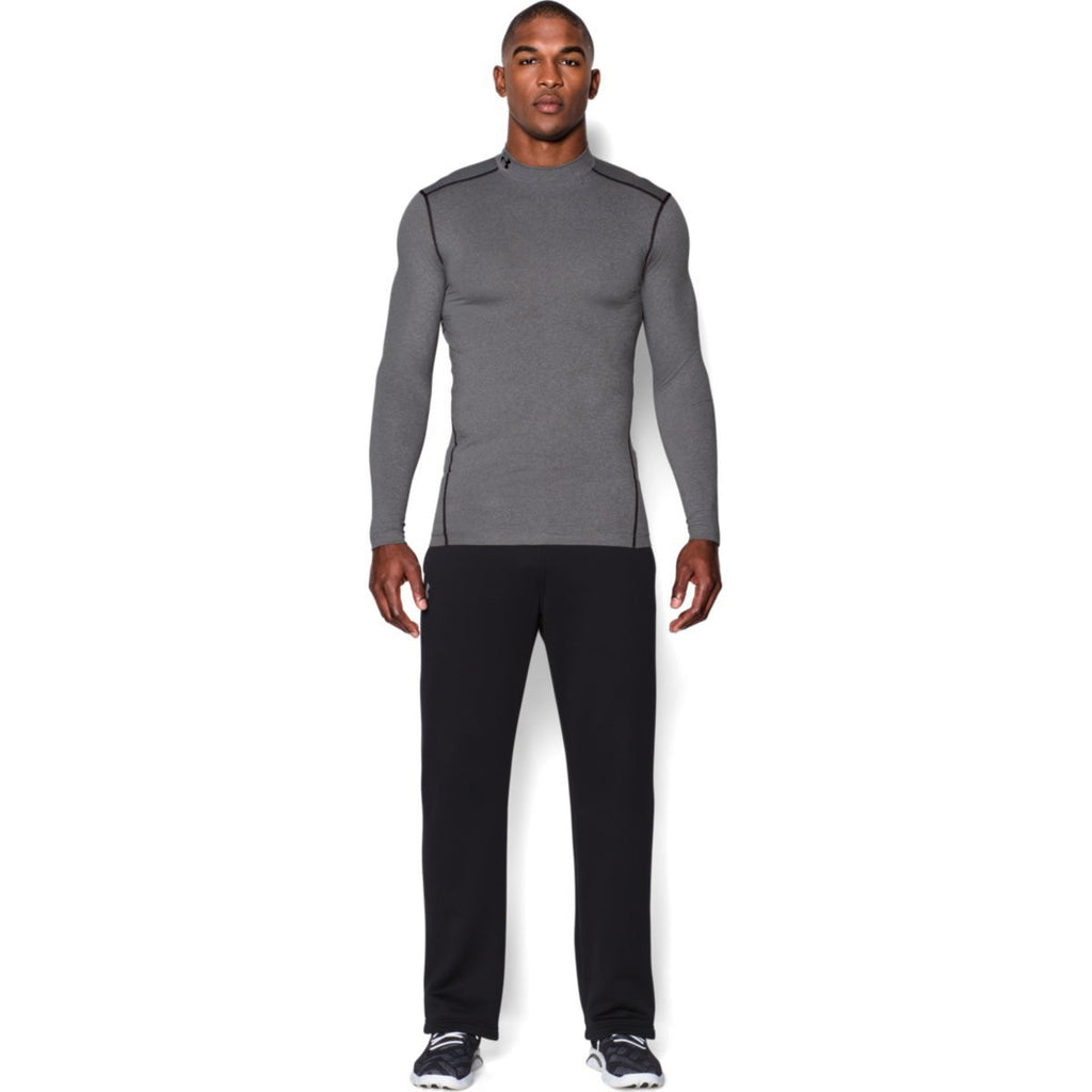 Under Armour Men's True Grey ColdGear Armour Compression Mock